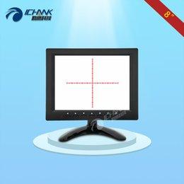 2019 display de placa lcd ZB080JN-S12 / 8 polegadas de exibição 800x600 portátil PCB industrial Linha Escala Conselho Microscópio Cruz Movable monitor LCD com AV BNC VGA desconto display de placa lcd
