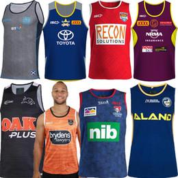 Chalecos singletes online-2019 Cowboys Wests Tigers Brisbane Broncos Maroons Jersey de rugby de Nueva Zelanda Jersey de camiseta NRL Camiseta de camiseta de liga de la Liga Nacional Singlet