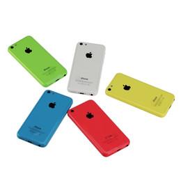 grátis iphone 5c desbloqueado Desconto 100% Original 4.0 inch iPhone 5C IOS8 4G LTE Desbloqueado Remodelado Smartphone Telefones Celulares ePacket Livre