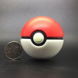 jouets élves Promotion Pokémon Original Détective Pikachu balle gonflable Pikachu balle gonflable jouets noctilucence elfe balle meilleurs cadeaux