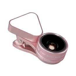 3 в 1Rechargeable LED селфи кольцо света заливки света 0.36 X супер широкий угол 15 x макро-объектив для мобильного телефона планшетного компьютера от Поставщики макрос кольцо привело свет