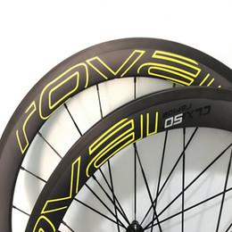 2019 rodas de estrada de carbono china Ceia qualidade completa rodas de bicicleta de carbono amarelo / preto / branco rovail rodas cxl 50/40 / 60mm ciclismo bicicleta rodas basalto superfície frete grátis