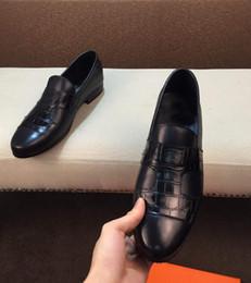 2019 stivali da ufficio mens [Scatola originale] 2019 Luxury New Mens scarpe da lavoro in pelle formale affari abito da sposa casual passeggiata ufficio scarpe da uomo gentiluomo Size38-44 stivali da ufficio mens economici