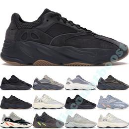 700 v2 Vanta Corredor Kanye West Geode Estática Onda Mauve Mens Mulheres Athletic Inércia OG Cinza Sólido Tênis Esportivos Sneakers rendas de Fornecedores de insta pump fury