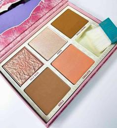 2019 kits de resaltado 2019 Brand New Squad Cheek Blush Bronzer Palettes 6 tonos con pincel Hot Sale Face Blushed Highlight Kits de maquillaje de contorno Envío gratis kits de resaltado baratos