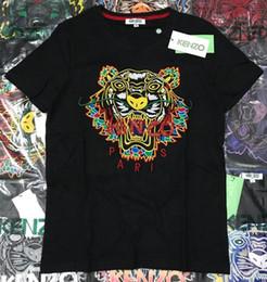 2019 venta al por mayor de la muchacha de la cabeza 19ss nueva alta calidad de algodón puro bordado versión alta hombres mujeres camiseta yeezus kanye west Brand camiseta