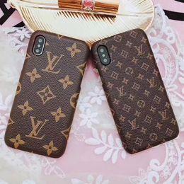 Classique en cuir PU Designer cas de téléphone pour iPhone X XS MAX XR 8 7 6 Plus Bumper Shell affaire de téléphone portable couverture ? partir de fabricateur