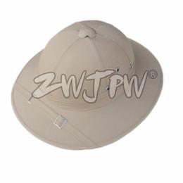 Вьетнам Вьетнамская военная альпинистская шапка NVA Vietcong VC Пробковая каска-шлем FR / 107104 cheap hat war от Поставщики шляпа войны