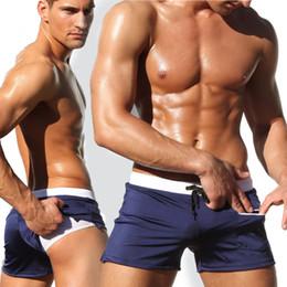 2019 männer niedrige bord shorts OMG Swimwear Men Badehose Pocket Zipper Badeanzug Plus Size Low rise Badeshorts Beachwear 2019 Sunga Board rabatt männer niedrige bord shorts