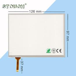 STOUCH Touchscreen da 5,7 pollici 126 * 97 schermo resistivo con saldatura a 4 pin PER touch panel digitizer PAD da 5,6