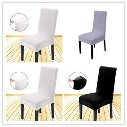 nastri trasportatori Sconti Nuova copertura della sedia del cappuccio dello Spandex convenzionale Rimovibile Stretch Sala da pranzo Banchetto di nozze Nuove coperture della sedia di design