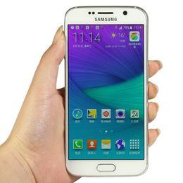 Recondicionado Samsung Galaxy S6 G920 5.1 Polegadas 3 GB RAM 32 GB ROM Câmera Traseira Dupla 4G Celular (Selado de Fábrica) de