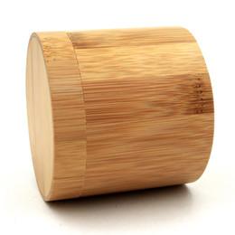 2019 caja de fundas de almohada Reloj de bambú Caja de regalo Exhibición de la joyería Cilíndrico Caja redonda de almacenamiento con almohada Cajas de reloj de pulsera al por mayor rebajas caja de fundas de almohada