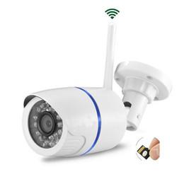 2019 câmera de hd ao ar livre sd Wdskivi HD 1080 P À Prova D 'Água Ao Ar Livre Câmera IP P2P Wifi Câmera de Segurança CCTV Vigilância Detecção de Movimento Cartão SD câmera de hd ao ar livre sd barato