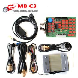 sd connect multiplexer Promotion Carte mère MB Star C3 pleine qualité SD Connect mb c3 prend en charge les voitures et camions 12V 24V avec relais NEC Star Multiplexer