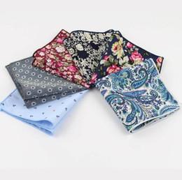 Canada Hankerchief Echarpes Mouchoirs en coton Vintage Hankies pour hommes Rose Flower Paisley Offre