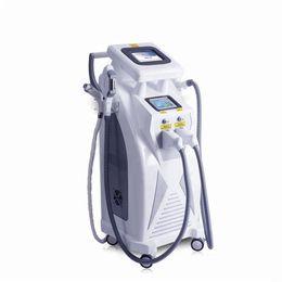Láser elight rf ipl yag online-Máquina multifuncional de rejuvenecimiento de la piel con RF de eliminación de vello con láser Qd Elight SHR IPL de OPT Elight SHR