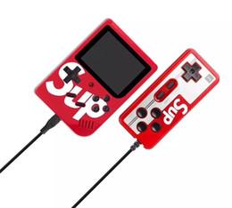 2019 dois jogadores SUP Handheld Video Games Console Suporte para dois jogadores Jogo 400 em 1 AV Saída 3.0 tela HD Game Player melhores presentes para as crianças