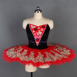 Балетная пачка стандартного размера с мягкими лентами из тюля, черный бархатный лиф с 7 слоями плиссированной юбки-пачки BLL129 от