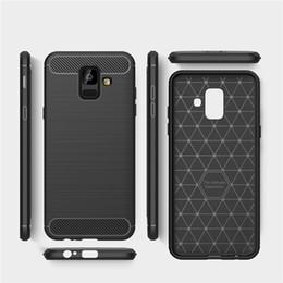 Coque TPU en fibre de carbone souple pour Samsung Galaxy A6s A9s S8 S9 Plus Note 8 9 J2 Core J260 S10 Housse de protection antichoc ? partir de fabricateur
