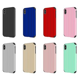 IMIDO Mode Bagages Mignon Téléphone Cas Pour iPhone XS MAX Luxe Plaine Valise TPU + PC Couverture Pour iPhone X XR 7 8 6 6 S Plus Coque ? partir de fabricateur
