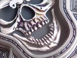 orologi del tatuaggio Sconti 46MM BRUCIATURA DA TESTA ART ENGRAVE CARVE TATUAGGIO FREDDO BR01-92 01-92 UOMO OROLOGIO DA POLSO AVIAZIONE OROLOGIO AUTOMATICO QUADRANTE ANTICO ZAFFIRO CRISTALLO