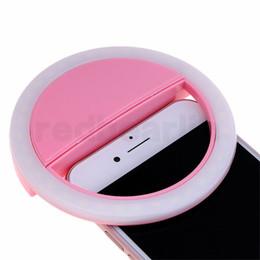 Fabricantes de lámparas online-Fabricante de carga LED flash belleza relleno selfie lámpara exterior selfie anillo luz recargable para todos los teléfonos móviles