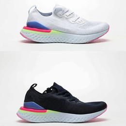 la luce del morso Sconti (Con scatola) 2019 React 2 8-Bit Pixel Sneaker Uomo Donna Scarpe da corsa leggere