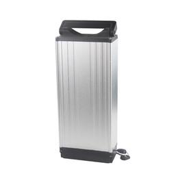 Цикл работы от батареи онлайн-С алюминиевыми сплавами электрический литиевый аккумулятор Ebike цикл 48 В 20AH для 400 Вт до 1250 Вт с 2A зарядное устройство бесплатно Shippin