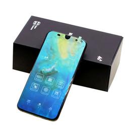 С отпечатками пальцев Полный экран Изогнутый экран Mate 20 4 камеры Android 8 1 ГБ / 16 ГБ Показать поддельные 4 ГБ RAM 128 ГБ ROM Поддельные 4G LTE разблокирована сотовый телефон от