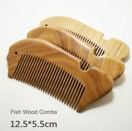 Sândalo verde Natural Comb Pente-dente Anti-estático Cabeça Massagem Cuidados Com Os Cabelos Ferramentas De Cabelo De Madeira frete grátis de
