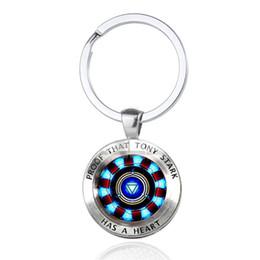 Iron Man Tony Stark Porte-clés Merveille Les 4 Endgame Quantum Realm Série Porte-clés Porte-clés de voiture pour hommes Bijoux ? partir de fabricateur