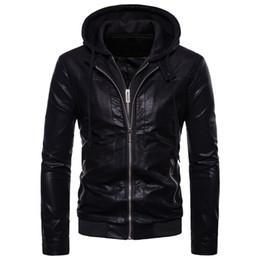 Canada Blazer en cuir décontracté pour les hommes noir kaki brun slim fit vestons en lether vestes manteaux grande taille veste en cuir blazer cheap browns jackets Offre