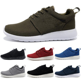 outlet store 88ae9 bed37 Nike Roshe run one Tanjun Vendita calda tanjun London 3.0 1.0 uomini donne  scarpe da corsa Triple nero bianco blu rosso scarpe da ginnastica da uomo  ...
