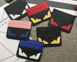 Petit monstre Mini Pack de cartes mignon Compacte Porte-monnaie Marée Marque Personnalité Petit sac de cartes mince et fraîche ? partir de fabricateur