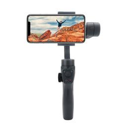steadicam iphone Rebajas Nuevo Eyemind V2.0 smart stabiliser 3-Axis Gyro Foldable Handheld Gimbal Stabilizer para Smartphone Cámara anti-vibración video Accesorios