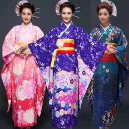 Best Seller Japanese Kimono Women Yukata Traditional Kimonos Female  Bathrobe Japanese Ancient Clothes Costume 90b7688ba