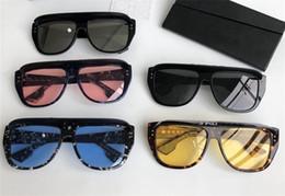 Lunettes de soleil amovibles en Ligne-Nouveau designer de lunettes de soleil lunettes de protection amovibles cadre de masquage ornementales lunettes uv400 protection lentille top qualité simple