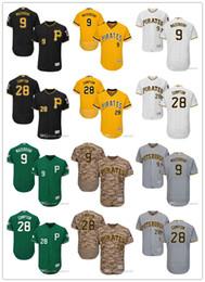 camisola de basebol de flanela Desconto Juventude das mulheres dos homens Pittsburgh 9 Bill Mazeroski 28 Brandon Cumpton personalizado Jerseys Jerseys de beisebol