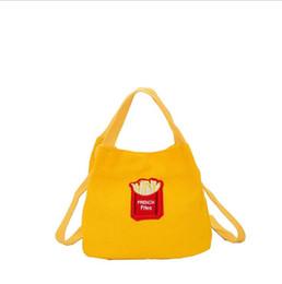 Canada Littérature japonaise et simplicité artistique, université rétro, sac de toile de frites, 2 sacs à bandoulière, sac à main, petit sac seau supplier mini art canvas Offre