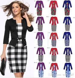 c6c517e934ea Distribuidores de descuento Vestidos Para Mujer De La Oficina ...