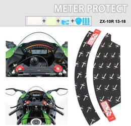 2019 serbatoio del gas del motociclo di honda Anxin Moto Cluster schermo graffiatura della copertura del cruscotto della pellicola della protezione dello Speedo Guardie Per Kawasaki ZX10R 2013-2018