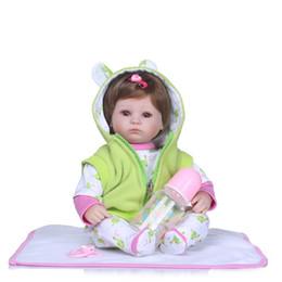 2020 silicone realista para bonecos de bebê 16 Polegada 40 cm Realista Reborn Bebês Silicone Lifelike Boy Baby Dolls Para Crianças Princesa Crianças Brinquedo Dormindo silicone realista para bonecos de bebê barato