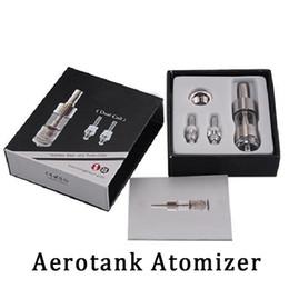 Canada NOUVEAU Clone Kanger Aerotank Clearomizer Double contrôle de flux d'air 2.5ml Atomizer Aerotank pour 510 Drip tip Cigarette électronique livraison gratuite Offre