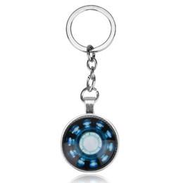 porte-clés vengeur pour enfants Iron Man capitaine porte-clés américain pour bébé Kirsite blueconstellation cravate accessoires enfants jouets ? partir de fabricateur