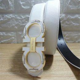 Canada Nom designer classique grande boucle en cuir véritable ceinture hommes femmes de haute qualité nouvelle qualité classique ceintures ceinture Offre