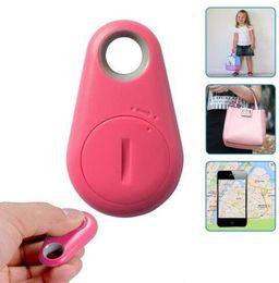 GPS Tracker Anti-Lost Alarm Furto Dispositivo Bluetooth Remote Child Pet Bag Portafoglio Key Finder Phone Box Veloce nave cheap device tracker alarm da allarme tracker dispositivo fornitori