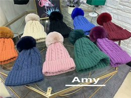 d0f7a772361 2019 New Fashion Cute Cool knitted Hats Hot sale for Women Fashion Leisure  Warm Ear Caps Comfortable Cute Caps