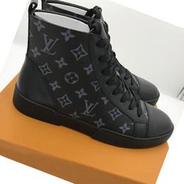 Qualité d'étoile pas cher en Ligne-Chaussures habillées pour hommes en cuir souple de haute qualité, chaussures de marque de créateurs de luxe, chaussures en cuir décontractées super star de taille 38-45 1004