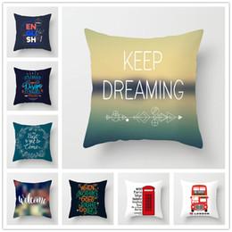 2019 moomin hülle Houspace Polyester Pfirsichhaut Keep Dreaming For Home Kissen Decor Sofa Auto Dekorative Geschenk Stuhl Sitz Kissenbezug Kissenbezug